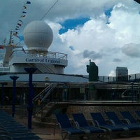 Photo taken at Carnival Legend by Chad L. on 9/25/2011