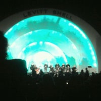 Photo taken at Levitt Shell by John S. on 10/16/2011