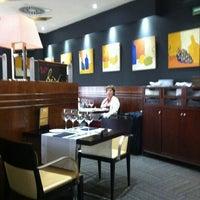 Photo taken at Hotel Silken Amara Plaza by Snezhanna T. on 8/5/2012