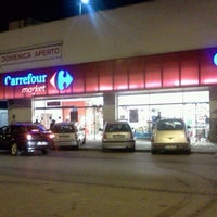 Photo taken at Carrefour market by Eleonora F. on 12/11/2011