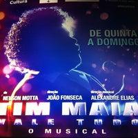 Photo taken at Teatro Procópio Ferreira by Carla A. on 6/29/2012