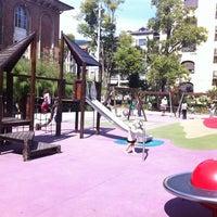 Photo taken at Parque Infantil by Nex on 8/28/2011