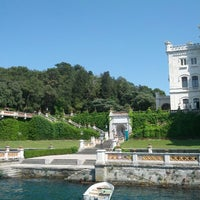 Photo taken at Castello di Miramare by Loris R. on 7/10/2012