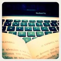 Photo taken at Biblioteca de Arte da Fundação Calouste Gulbenkian by Tânia S. on 6/21/2012