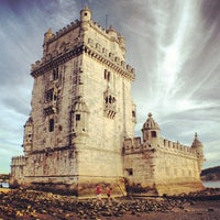 Photo taken at Belém Tower by Anderson S. on 8/12/2012
