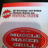 Photo taken at Muscle Maker Grill by Jonathan M. on 6/20/2011