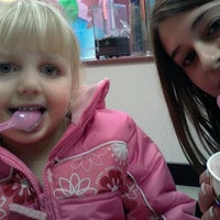 Photo taken at Baskin-Robbins by Kerri B. on 1/21/2012