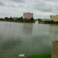 Photo taken at Lake Mirror by Noelí G. on 8/17/2012