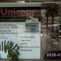 Photo taken at Unicopy Encadernadora by Fred F. on 2/6/2012