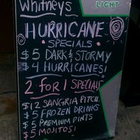 Photo taken at T.G. Whitney's by Addy O. on 8/26/2011