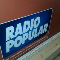 Photo taken at Rádio Popular by Pedro M. on 12/16/2011