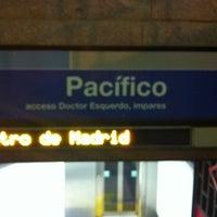 Photo taken at Metro Pacífico by Alberto C. on 2/14/2012