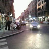 Photo taken at Piazza Gobetti by Paolo S. on 3/12/2012