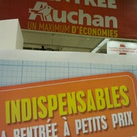 Photo taken at Auchan by Christian H. on 8/27/2012