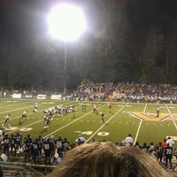 Photo taken at War Eagle Stadium by Trent O. on 10/14/2011
