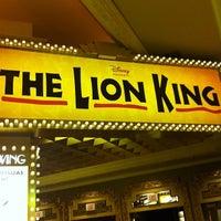 Photo taken at THE LION KING in Las Vegas by Gilbert L. on 11/20/2011