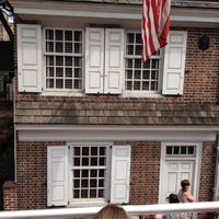 Photo taken at Betsy Ross House by Jackie M. on 8/19/2012