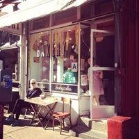 Photo taken at Erin McKenna's Bakery by Bastian B. on 5/11/2012