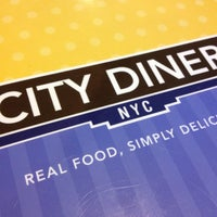 Photo taken at City Diner by Daniel M. on 3/16/2012