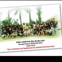 Photo taken at Universitas Katolik Indonesia Atma Jaya by Berto H. on 2/3/2012