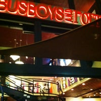 Photo taken at Busboys and Poets by Luke N. on 6/8/2012