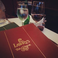 Photo taken at Lawry's The Prime Rib by Calvin C. on 7/20/2012