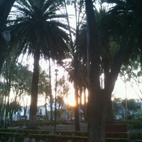 Photo taken at Parque José Mariano Muciño by Steph M. on 8/1/2012