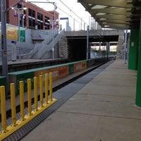 Photo taken at MetroLink - Stadium Station by Scott B. on 9/9/2012