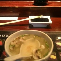 Photo taken at Samurai Japanese Steak House by Rick B. on 7/11/2012