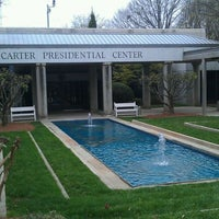 Photo taken at Jimmy Carter Presidential Library & Museum by Aaron C. on 3/12/2012