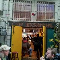 Photo taken at Cafe International by Manixs M. on 4/16/2012