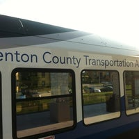 Photo taken at DCTA MedPark Station (A-train) by Hunter B. on 6/18/2012