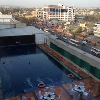 Photo taken at Four Points by Sheraton Jaipur, City Square by Evi C. on 3/14/2012