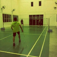 Photo taken at Arena Badminton, ST JOHN by Alam ramadan S. on 7/1/2012