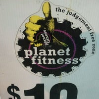 Photo taken at Planet Fitness by Dora S. on 3/2/2012