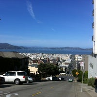 Photo taken at Fillmore Stairs by Siobhan Q. on 2/18/2012