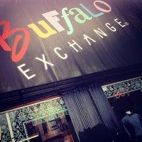 Photo taken at Buffalo Exchange by Greg B. on 7/25/2012