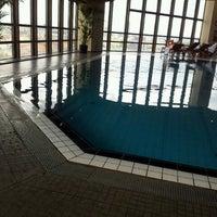 Photo taken at Corinthia Hotel Prague by Eva B. on 8/25/2012