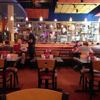 Photo taken at Red Robin Gourmet Burgers by Peter G. on 5/15/2013