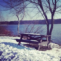 Photo taken at Hopkinton State Park by Lauren F. on 1/6/2013