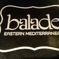 Photo taken at Balade - Eastern Mediterranean by Alison P. on 7/7/2016