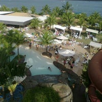 Photo taken at Nautico Praia Clube by Jordana on 7/3/2013