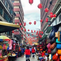 Photo taken at Petaling St. (茨厂街 Chinatown) by Pierre F. on 8/6/2013