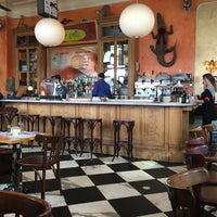 Photo taken at Cafe Gitane at The Jane Hotel by Joel P. on 2/11/2016