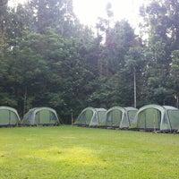 Photo taken at Tanakita Camp Situgunung by Kusneri P. on 5/26/2014