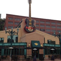 Photo taken at Hard Rock Cafe Pittsburgh by Michal W. on 10/1/2012