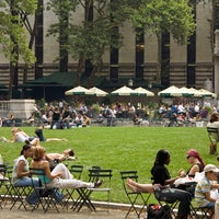 Photo taken at Bryant Park by SEO F. on 7/7/2013