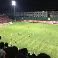 Photo taken at Leo Stadium by Oil ' B. on 6/29/2016