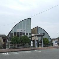 Photo taken at Futaminoura Station by natsupato k. on 5/28/2016