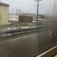 Photo taken at Ж/д станция Ивангород by Игорек М. on 12/7/2014